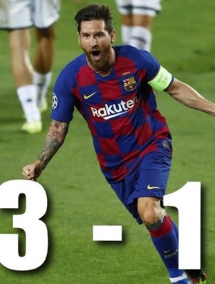 Barcelona advance to Quarter-finals