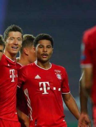 Bayern Munich through to the UEFA Champions League 2020 Finals