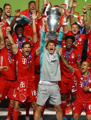 Bayern Munich crowned as the UEFA Champions League 2020 winner as they claim their Second Treble