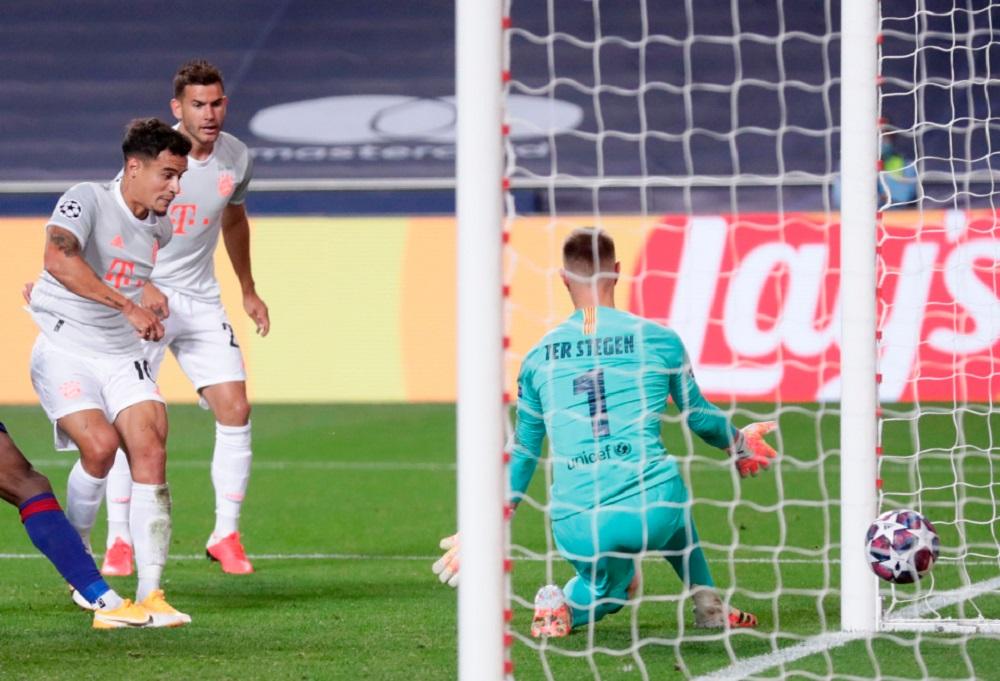 Bayern Munich humiliates Barcelona