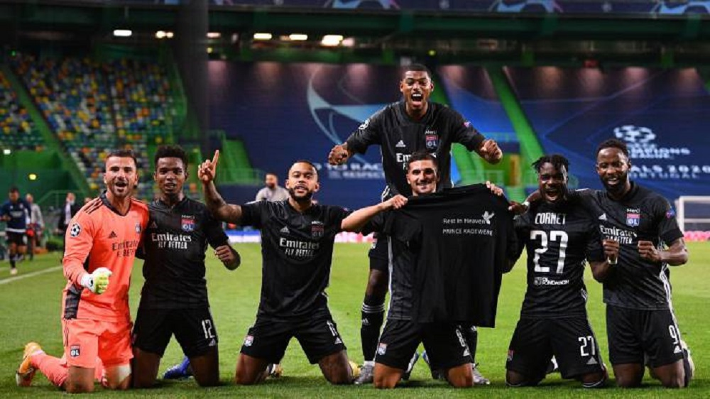 Lyon stun Pep Guardiola's Manchester City to seal their spot in the UCL semi-finals