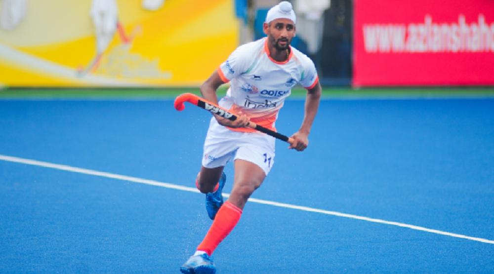 Indian Hockey Forward Mandeep Singh found COVID-19 Positive