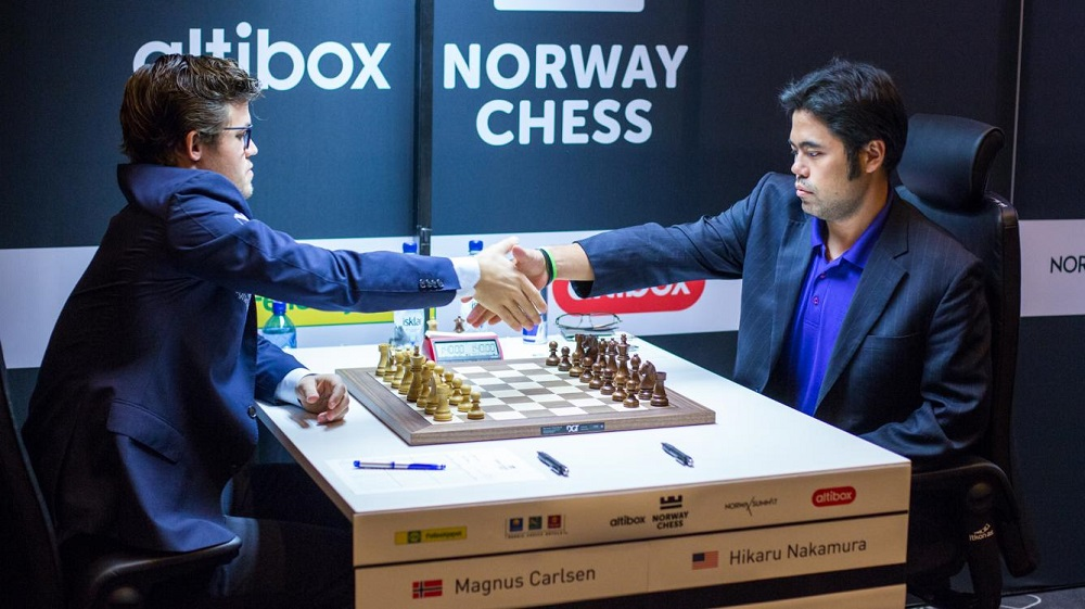Its Magnus Carlsen vs Hikaru Nakamura