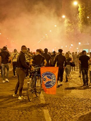 PSG fans lost their cool after club's defeat in UCL Finals