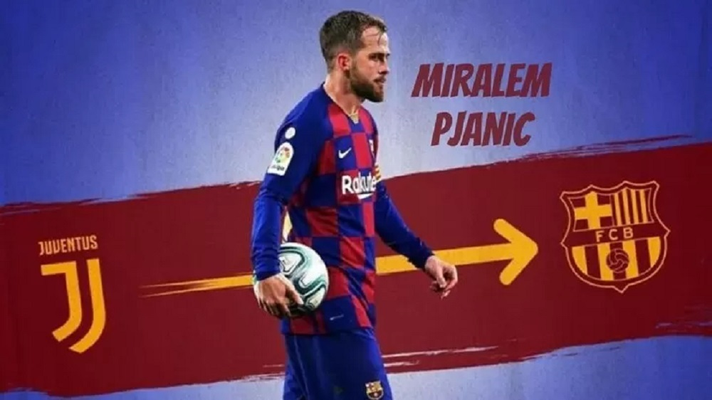 Miralem Pjanic tests positive for COVID-19