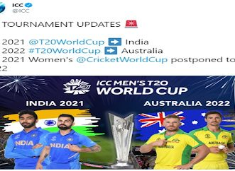 Women's Cricket World Cup postponed to 2022