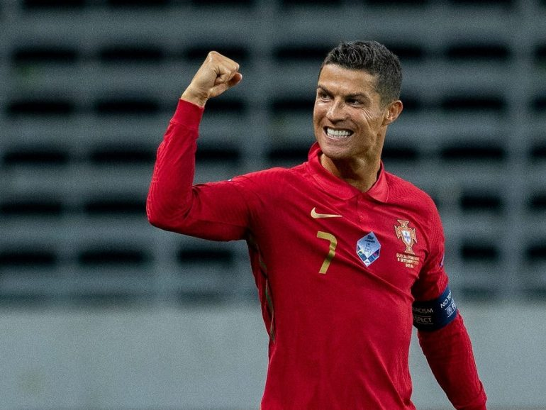 Cristiano Ronaldo Scored His 100th International Goal For Portugal