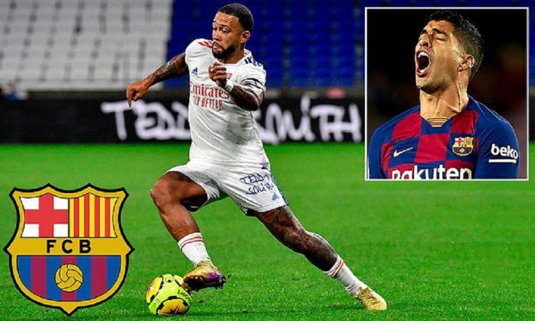 Memphis Depay As A Replacement For Luis Suarez?