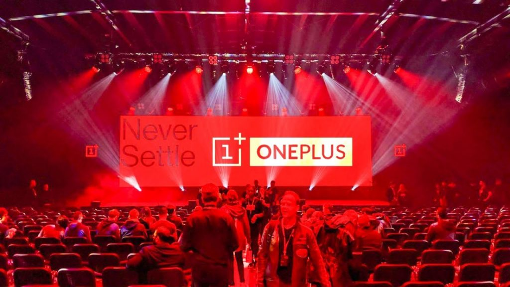 one plus launch event