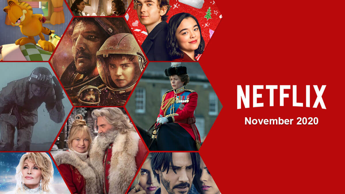 Netflix November 2020 movies and shows coming and leaving